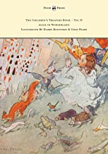 The Children's Treasure Book - Vol II - Alice in Wonderland - Illustrated By Harry Rountree and Chas Pears