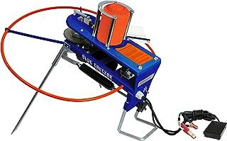 Gunpowder Gear Blue Chukar Auto Skeet Thrower Trap with 10 Clay Stack