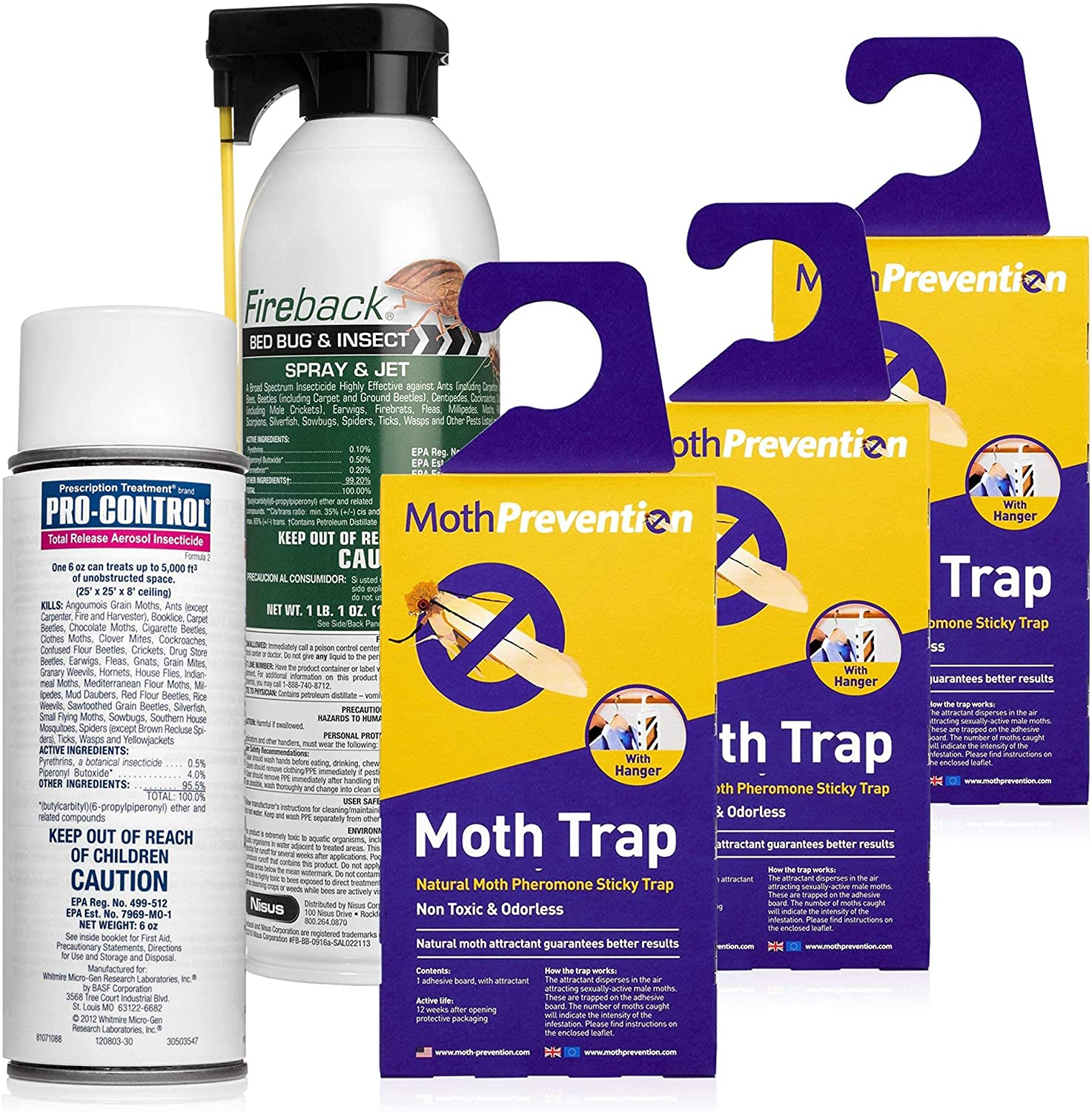 MothPrevention Clothes Moth Max 76% OFF Kit Killer Including Ranking TOP17