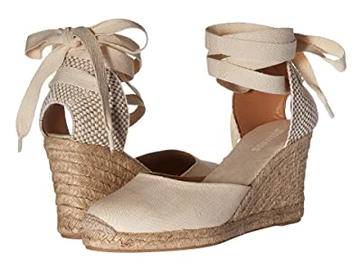 Soludos Tall Wedge Linen (Blush) Women