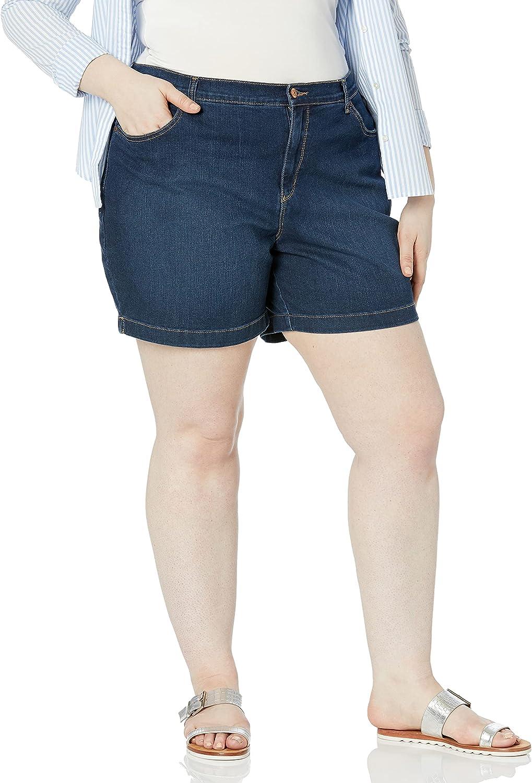 Gloria Vanderbilt Women's Plus Size Amanda Basic Jean Short