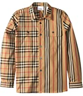 Burberry Kids - Amir Shirt (Little Kids/Big Kids)