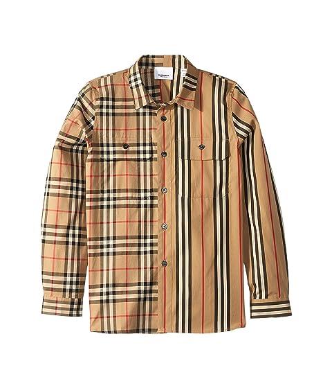 Burberry Kids Amir Shirt (Little Kids/Big Kids)