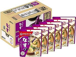アサヒグループ食品 アマノフーズ うちのおみそ汁なす5食 ×6袋