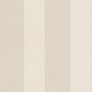 HA71521 - Harmony Cream Beige Stripe Galerie Wallpaper