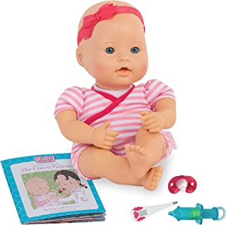 Baby Sweetheart by Battat – Medical Time 12-inch Soft-Body Newborn Baby Doll with Easy-to-Read Story Book and Baby Doll Ac...