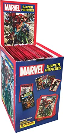 Mavel Súper Héroes Caja de estampas. (250 estampas)