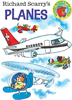 Richard Scarry's Planes Board Book