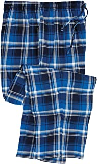 Men's Big & Tall Flannel Plaid Pajama Pants