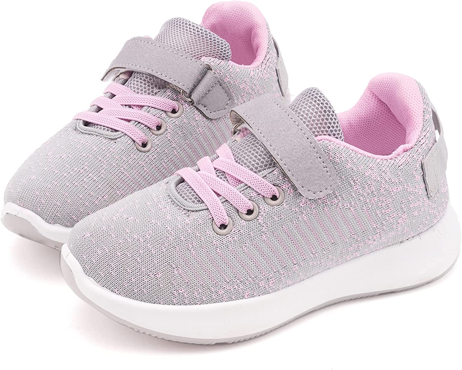 Toandon Toddler Kids Knit Award Breathable Sport Athletic for Sneakers New product type