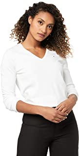 TOMMY HILFIGER Women's New Ivy V-Neck Sweater