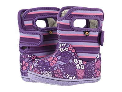 Bogs Kids Baby Bogs NW Garden (Toddler) (Purple Multi) Girls Shoes