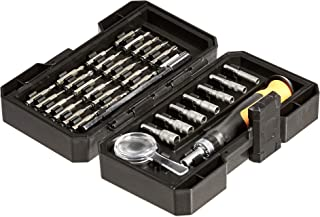 AmazonBasics Precision Ratcheting Driver and Bits Set, 34-Piece