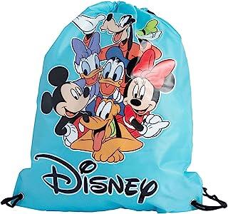حقيبة حمل ديزني 38.1 سم مطبوع عليها ميكي ماوس ميني دونالد دايزي جوفي بلوتو