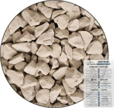 Growstone GS-1 Hydro Stones Hydroponic Substrate, Chunky Soil Aerator, Soil Amendment - 9 Liter + Twin Canaries Chart