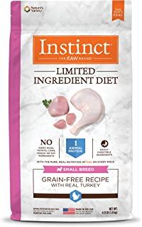 Instinct Limited Ingredient Small Breed Dry Dog Food, Limited Ingredient Diet Natural Grain Free Dog Food