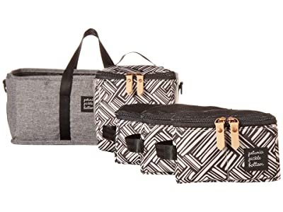 petunia pickle bottom Deluxe Kit (Graphite/Black) Diaper Bags