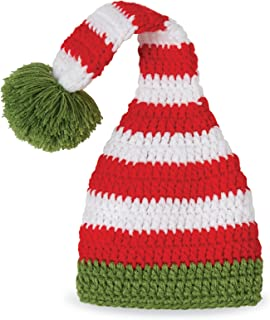 Mud Pie Baby Holiday Christmas Crochet Elf Hat