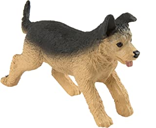Safari Ltd. German Shepherd Puppy – Realistic Hand Painted Toy Figurine Model – Quality Construction from Phthalate, Lead and BPA Free Materials – For Ages 3 and Up