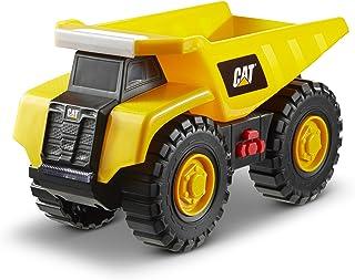 Caterpillar- Dump Truck Camión volquete Tough Machine, Color Amarillo (Funrise International 82285)