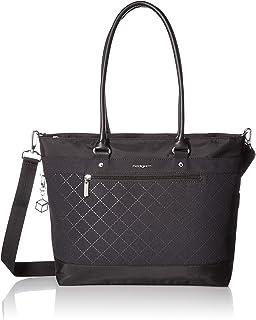 "Hedgren Zircon M Tote Bag, 14"" Laptop, RFID, Trolley Sleeve, Medium"