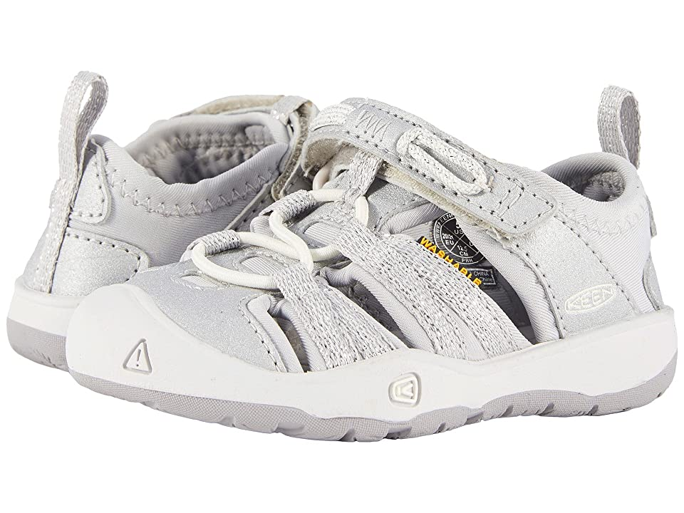 Keen Kids Moxie Sandal (Toddler) (Silver) Girls Shoes