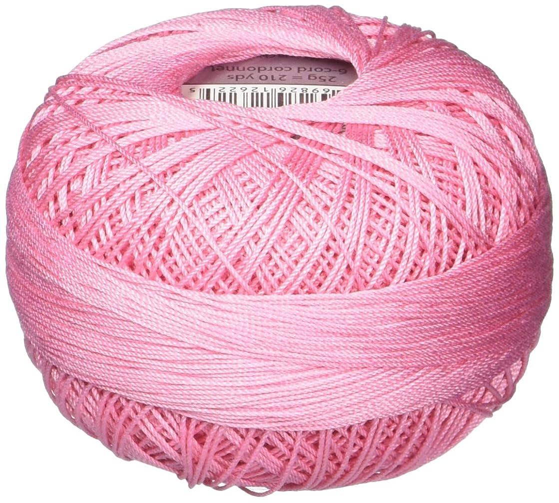 Handy Hands 210-Yard Lizbeth Cotton Thread, 25gm, Medium Pink