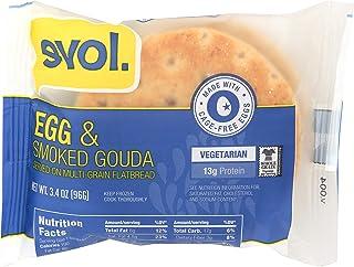 Evol Breakfast Sandwich, Egg & Smoked Gouda, 3.3 Ounce (Frozen)