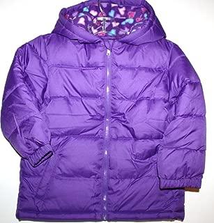 Toddler Girl's 24 mo. Purple Puffer Coat Jacket with Hood and Fleece Lining