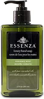 Essenza Hand Soap Rosemary Mint, Dark Green, 12 Ounce