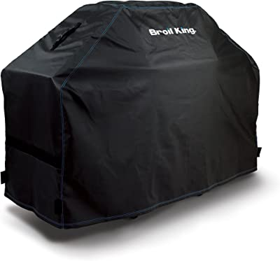 Broil King 68487 Heavy Duty PVC Polyester Grill Cover,Black