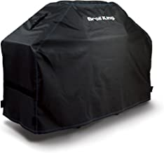 Broil King 68491 Heavy-Duty PVC Polyester Grill Cover,Black