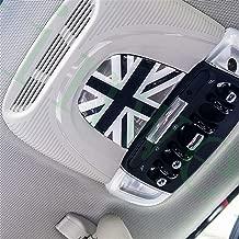 kioski Cubierta de la Llave del Coche de Fibra de Carbono ABS Funda Protectora del Llavero de protecci/ón Dura para Mini Hatch Convertible Countryman Clubman