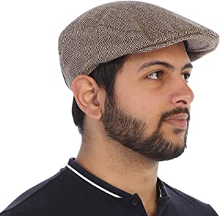 Men's Tweed Ivy Cap with Very Soft Lining