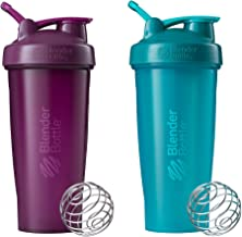 Blender Bottle SC01310 Classic Loop Top Shaker Bottle 28-Ounce 2-Pack Plastic Plum and Teal Estimated Price : £ 16,10