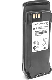vhbw Li-Ion batería 2600mAh (7.4V) para Radio, walkie-Talkie Motorola MOTOTRBO DP3401, DP3600, DP3601, DR3000, XiR 8200, X...