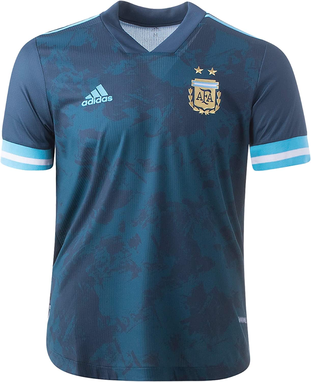 adidas Argentina Away Authentic Quality inspection Soccer 2020 Jersey- Mens Max 90% OFF