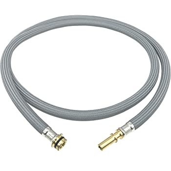 Shower Hose for Extendible Taps Nylon Grey M15//1 x 1//2 Inch x 150 cm ONECE Replacement Hose for Kitchen Spray