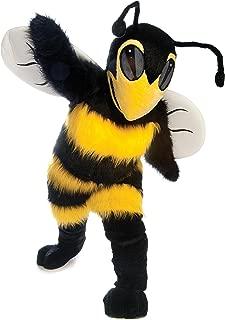 Bee/Hornet Mascot Costume Black