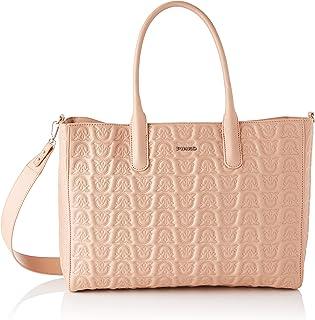 Pinko 1p21xs_y6nx, Love Shopping Monogram Nappa T Donna, Taglia unica