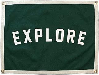 Oxford Pennant Explore Camp Flag Original