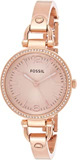 Fossil Women's Georgia Stainless Steel Dress Quartz Watch