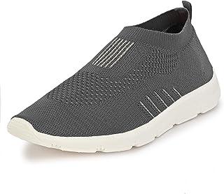 Bourge Men's Vega Slip-On Walking Shoes