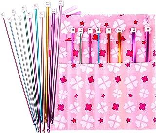 Tunisian Crochet Hooks Set Afghan Crochet Hook Tunisian Crochet Needles 11-Pack