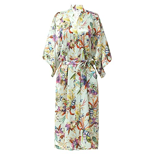 a252591201 NORA TWIPS Women s Dressing Kimono Gown