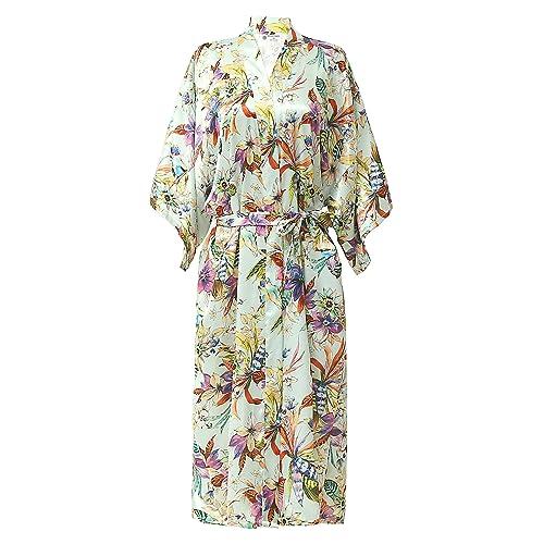 7d9414cc7a NORA TWIPS Women s Dressing Kimono Gown