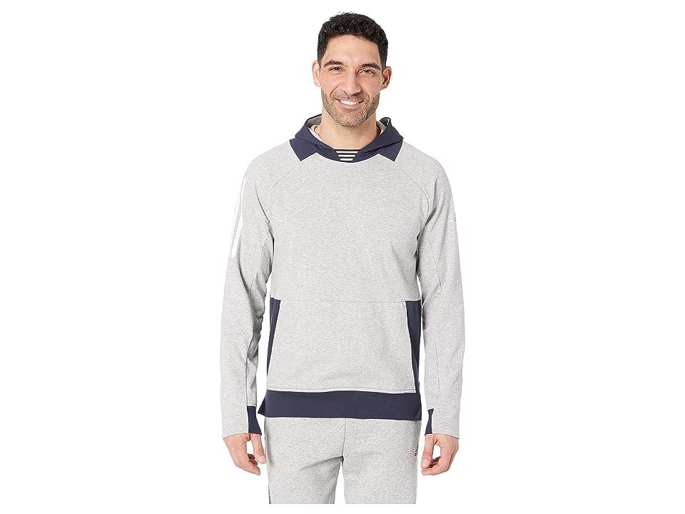 adidas Sport To Street Pullover (Medium Grey Heather/Legend Ink) Men