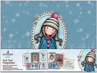 Santoro Gorjuss Craft Card, Multi-Colour, One Size