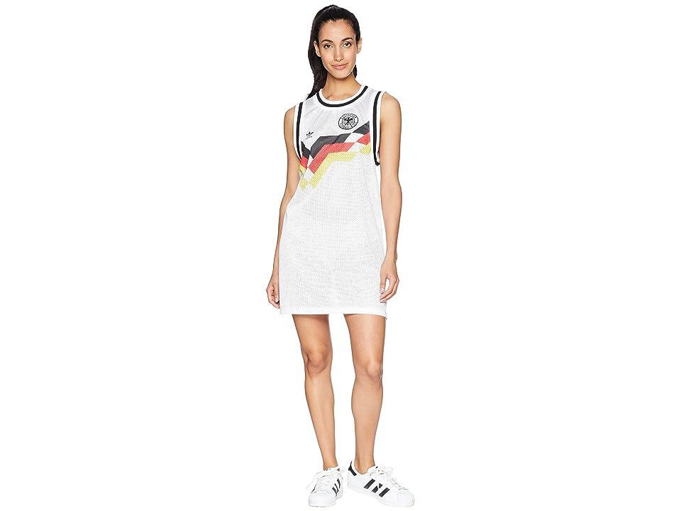 adidas Originals Germany Tank Dress (White) Women