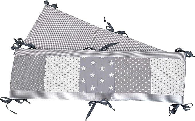 162 opinioni per Paracolpi ULLENBOOM ® stelle grigie (paracolpi per box da 200x30 cm, riduttore
